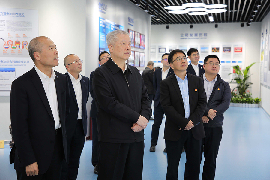 十三届全国政协经济委员会副主任刘利华莅临公司考察指导