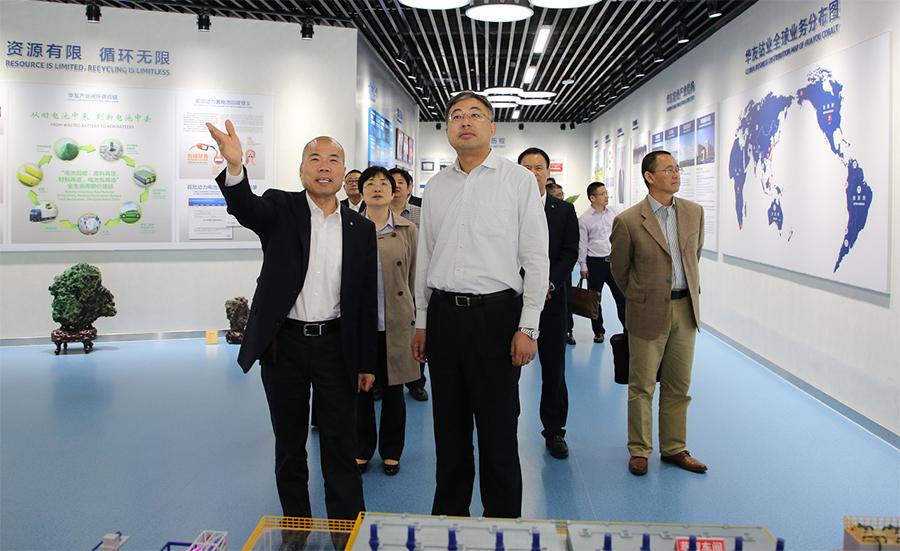 嘉兴海关关长王俊一行来公司调研指导